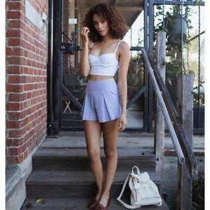 • American Apparel • Hampton Striped Shorts M